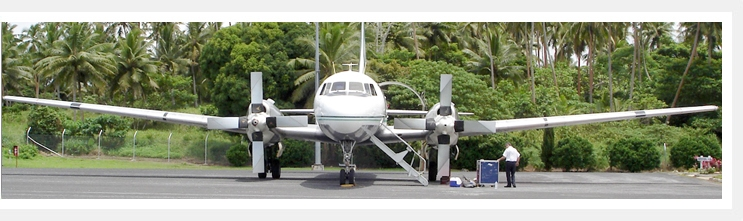 Chathams Pacific Convair 580 50 Seat Aircraft
